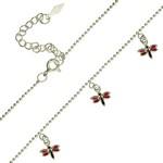 Bijuterii pentru copii - coliere din argint