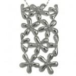 martisoare argint - pandantiv floricele