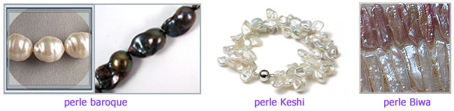 perle keshi perle baroque perle biwa