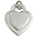 pandantiv argint inimioare