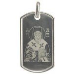 iconita gravata pe pandantiv argint
