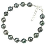 bratari din argint cu perle veritabile