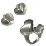 set argint inimioare