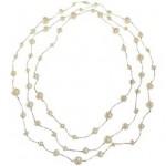 Bijuterii pentru zodia Rac: Colier cu perle veritabile (150cm)