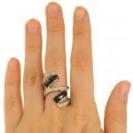 inel din set cu onix