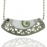 Pandantiv din argint Ochiul lui Shiva