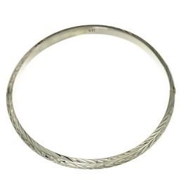 Bratara din argint .925 fixa model gravat