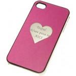 Husa / Carcasa iPhone 4 dama (roz)