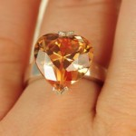 inel de logodna inima