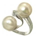 inele argint cu perle