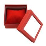 Cutie cadou rosie pentru bijuterii