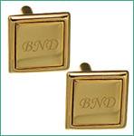 Cadouri personalizate - Butoni placati cu aur